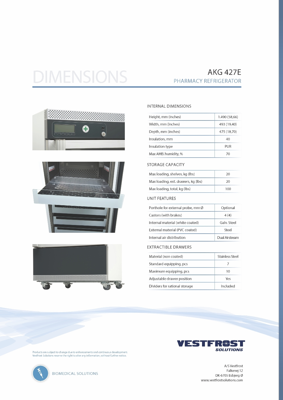 2015 - Product Flyer - AKG 427E - Pharmacy Refrigerator_Page_4.jpg (358066 bytes)